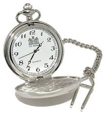 fob watch and chain