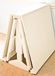 how to make a folding table