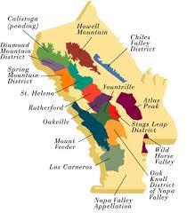 napa wine maps