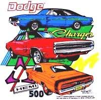dodge charger t shirts