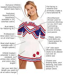cheerleading uniform designs