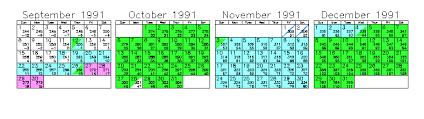 january 1991 calendar