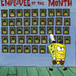 employee of the month spongebob