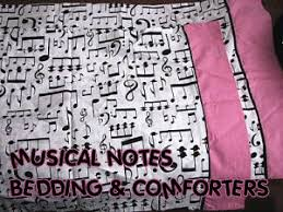 musical note bedding