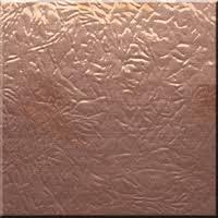 hammered copper backsplash