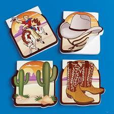 cowboy party favors