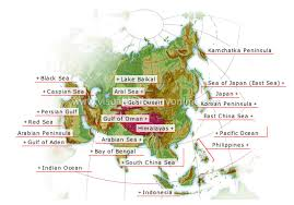 mountain ranges in asia