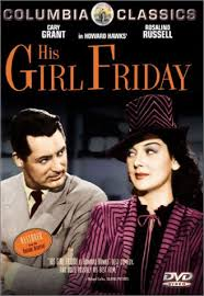 his girl friday cary grant