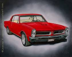 paintings of cars