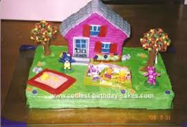 backyardigan cake decorations