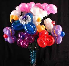 flowers balloons