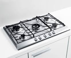 built in gas range