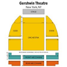 gershwin theatre map