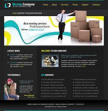 company website templates