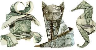 dollar bill folding