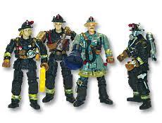 fireman figurines