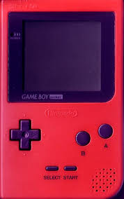 red game boy