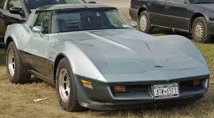 1982 chevy corvette