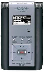 edirol digital recorder