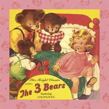pictures of goldilocks and the 3 bears