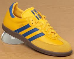 adidas samba yellow