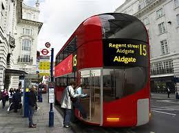 double decker bendy bus