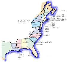 east coast of america map