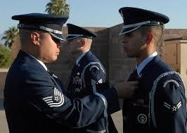 air force honor guard uniforms