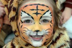 animal face painting designs