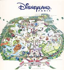 mapa disneyland paris