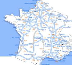 french motorways map
