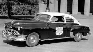 antique police cars