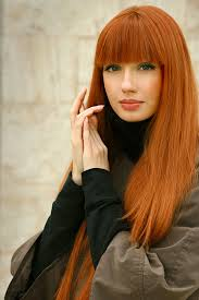 red hair color pictures