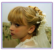 communion hairstyles
