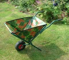 folding wheelbarrows