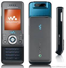 celular sony w580