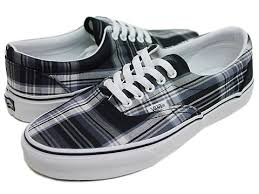 plaid vans shoes