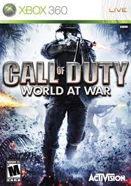 call of duty world at war xbox 360 game
