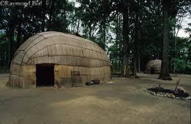 powhatan indian homes