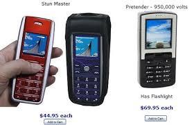 cell phone stun guns