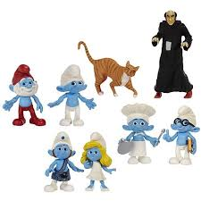 smurfs action figures