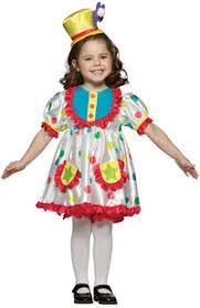 girl clown costume
