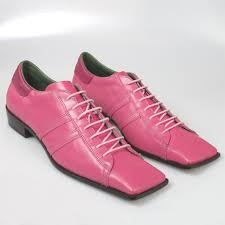 pink shoes men
