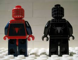 lego spiderman decals