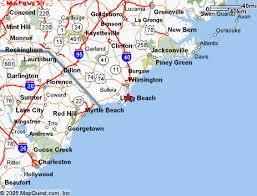 nc beach map