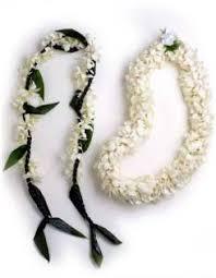 hawaiian wedding leis
