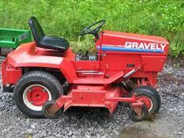 gravely garden tractors
