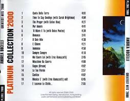 andrea bocelli platinum collection