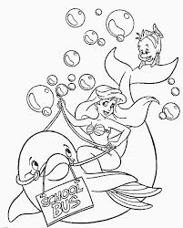 little mermaid coloring books