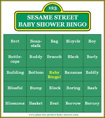 sesame street baby shower invitation